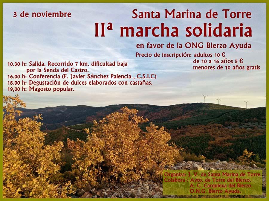 Marcha solidaria Santa Marina de Torre 2018