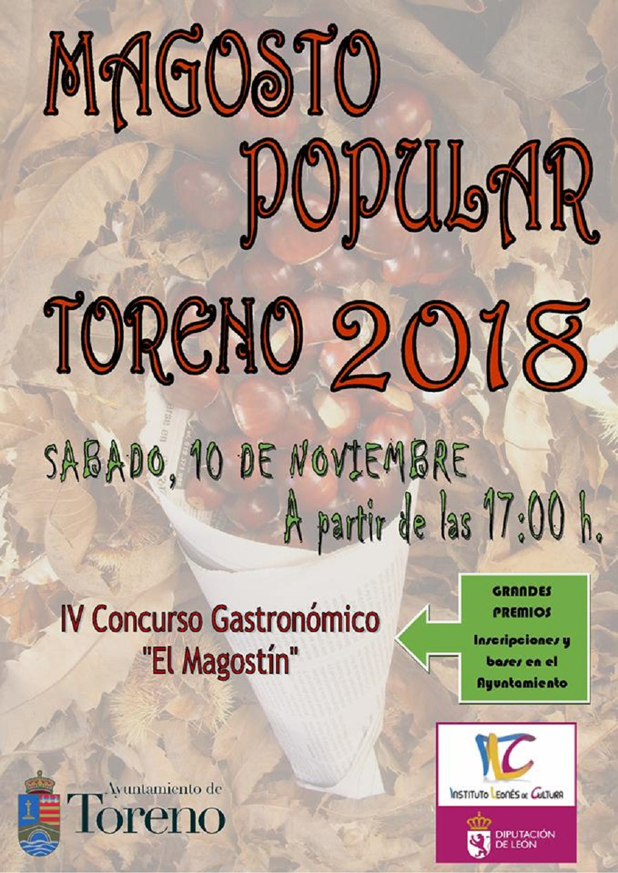 Magosto popular y concurso gastronómico en toreno