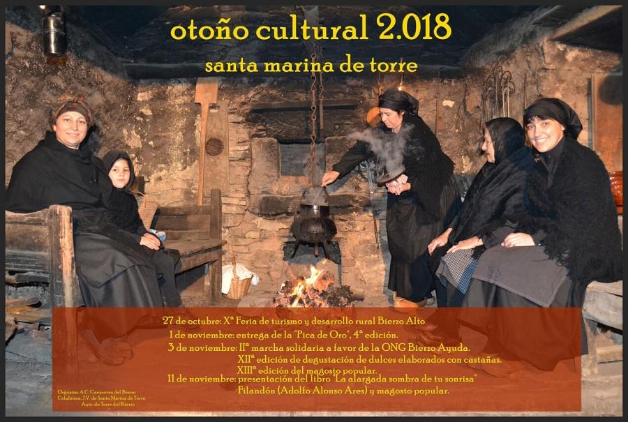 Santa Marina de Torre Otoño Cultural cartel