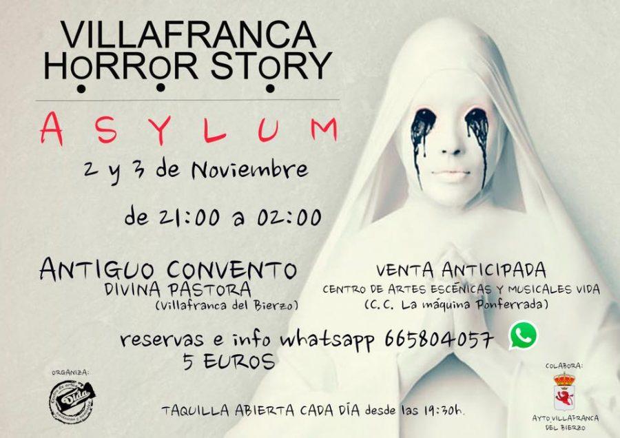 Villafranca del Bierzo Horror Story Asylum Centro de Artes Escénicas y Musicales VIDA