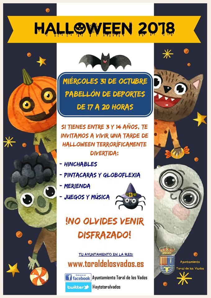 Toral de los Vados fiesta Halloween