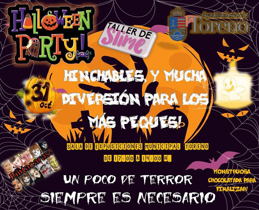 Toreno fiesta Halloween