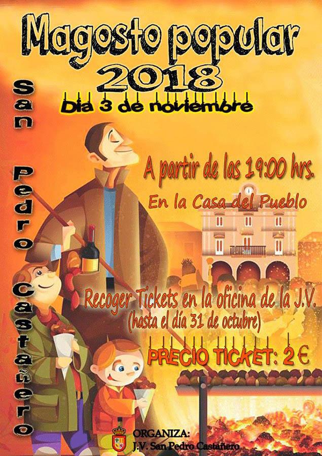 San Pedro Castañero magosto