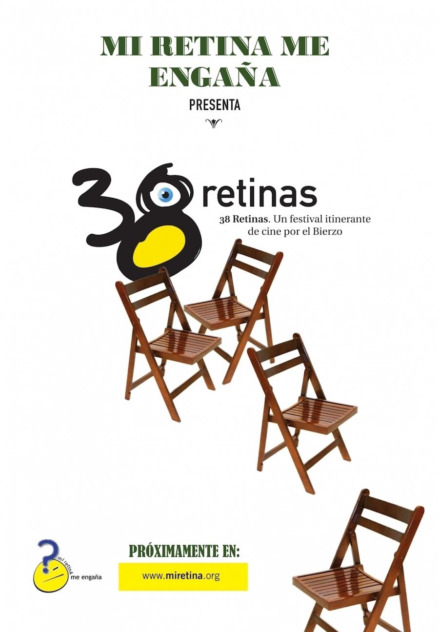 cartel festival cine 38 retinas bierzo cacareos Camponaraya toral de los vados