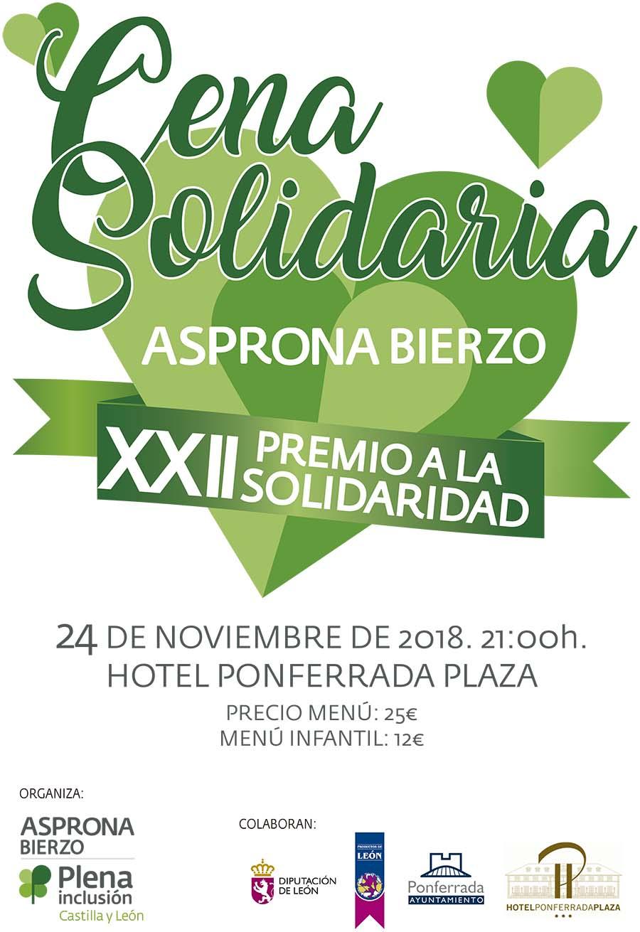 cena solidaria asprona bierzo para recaudar fondos en ponferrada el bierzo