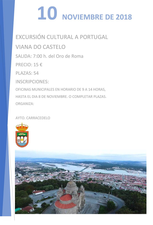 excursión a portugal organizada por el ayuntamiento de carracedelo