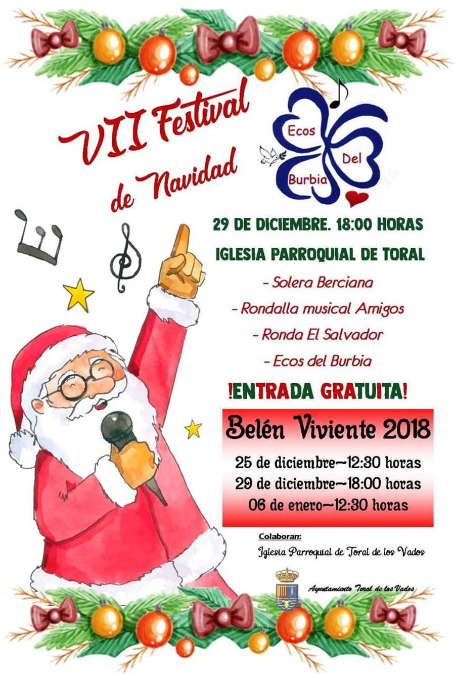 VII festival de navidad de toral de los vados el bierzo
