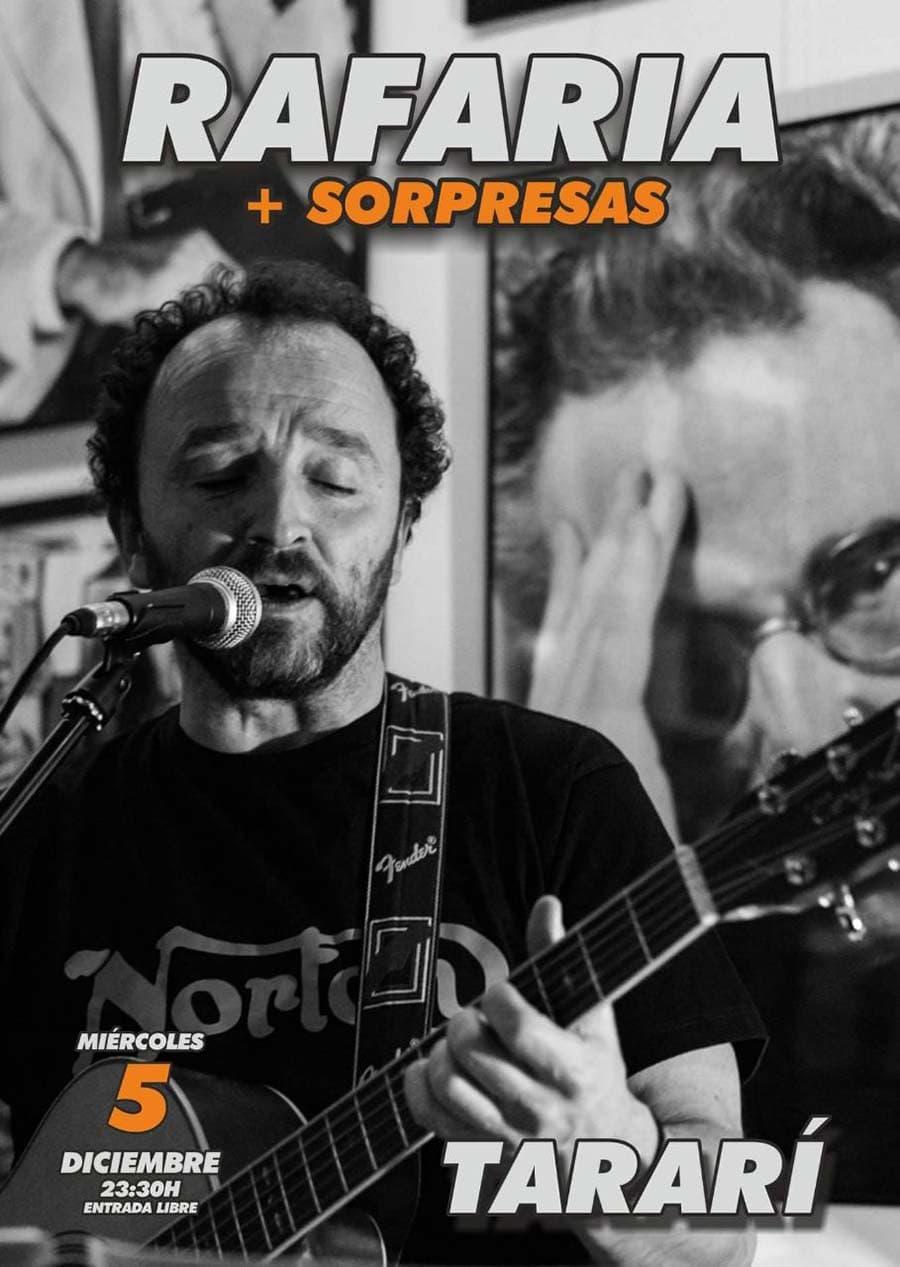 cartel concierto rafaria sala tarari ponferrada el bierzo