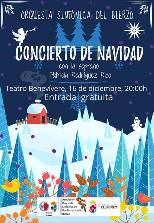 concierto de navidad orquesta sinfonica del bierzo en el benevivere bembire