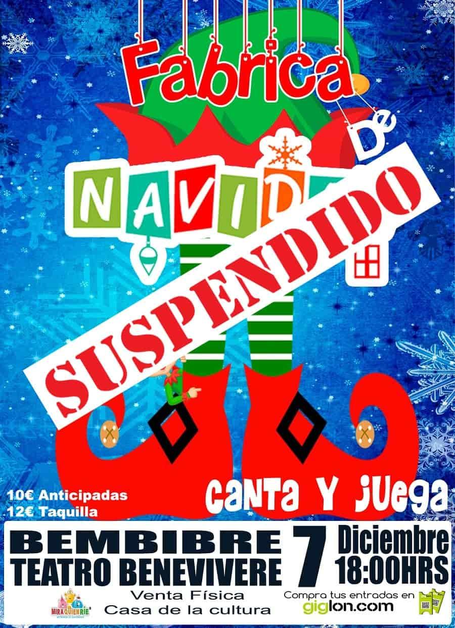 espectaculo infantil navidad bembibre suspendido el bierzo