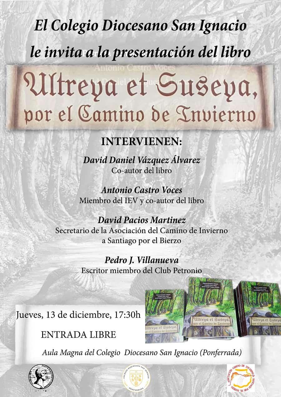 cartel presentación libro ultreya et suseya