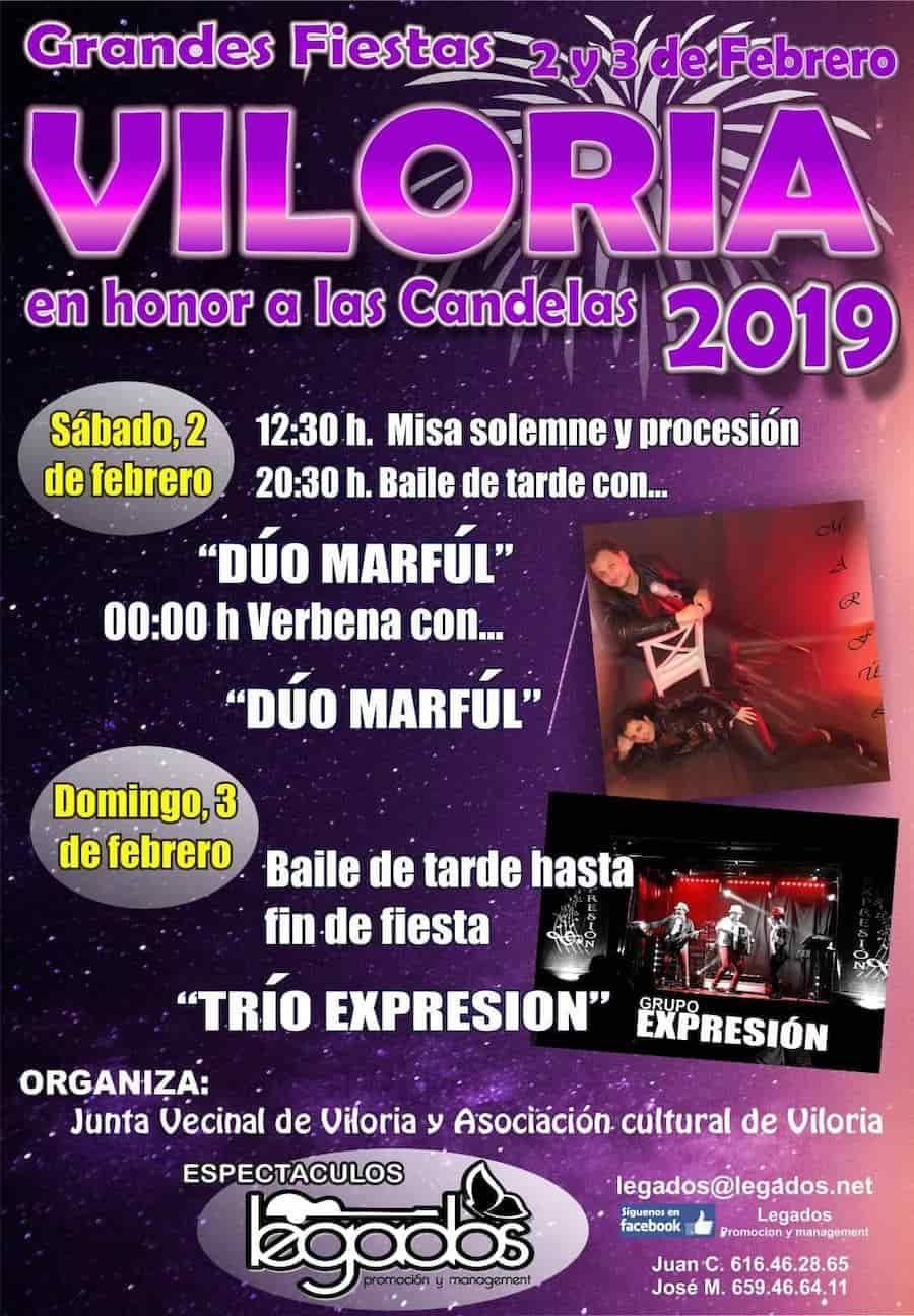 Fiestas Viloria Las Candelas