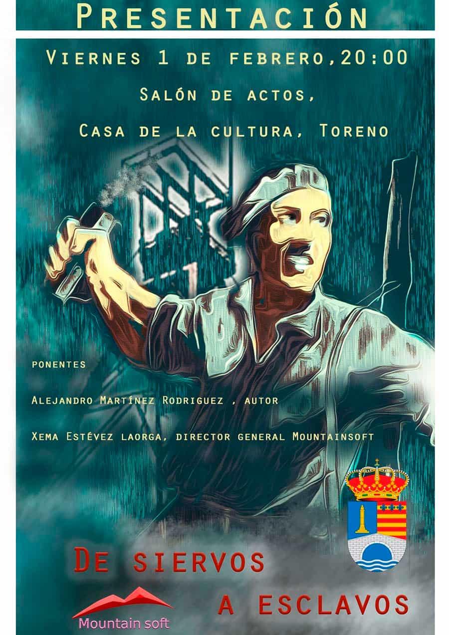 cartel presentacion siervos a esclavos toreno el bierzo