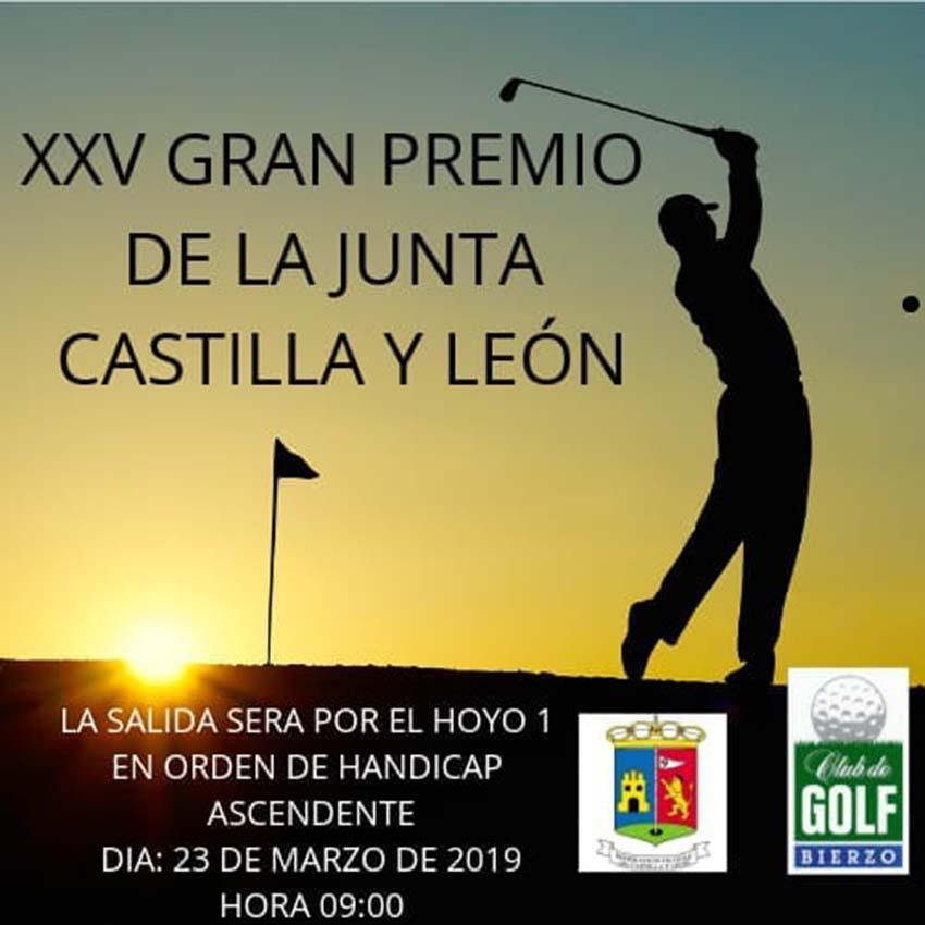cartel campeonato19 cyl golf ponferrada el bierzo