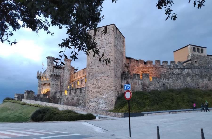 castillo templario ponferrada el bierzo