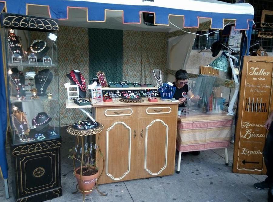 Mercado de Artesanos Semana Santa BIART Bierzo