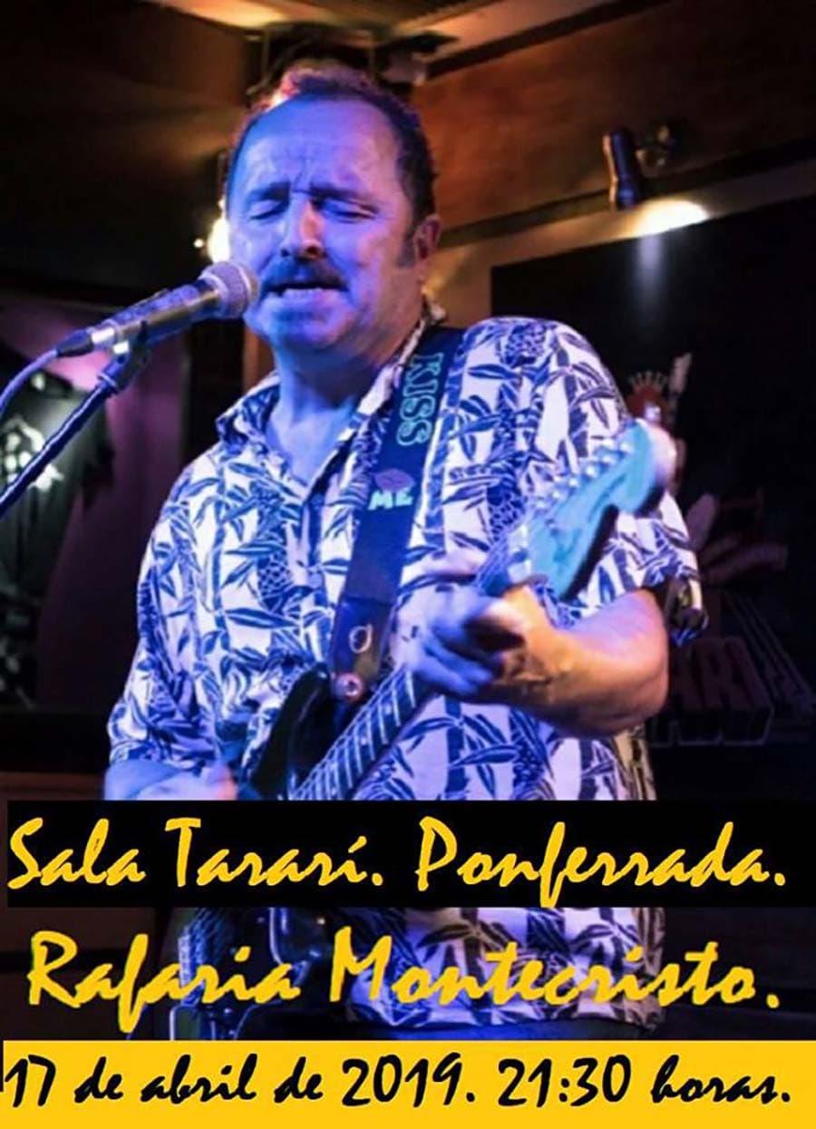 cartel rafaria concierto tarari ponferrada el bierzo