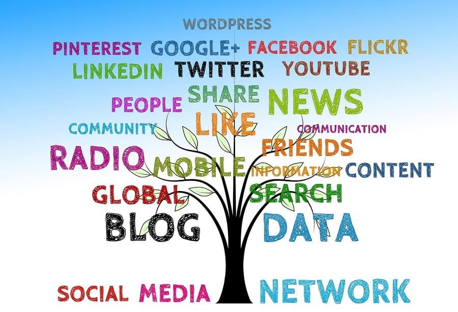 redes sociales generica