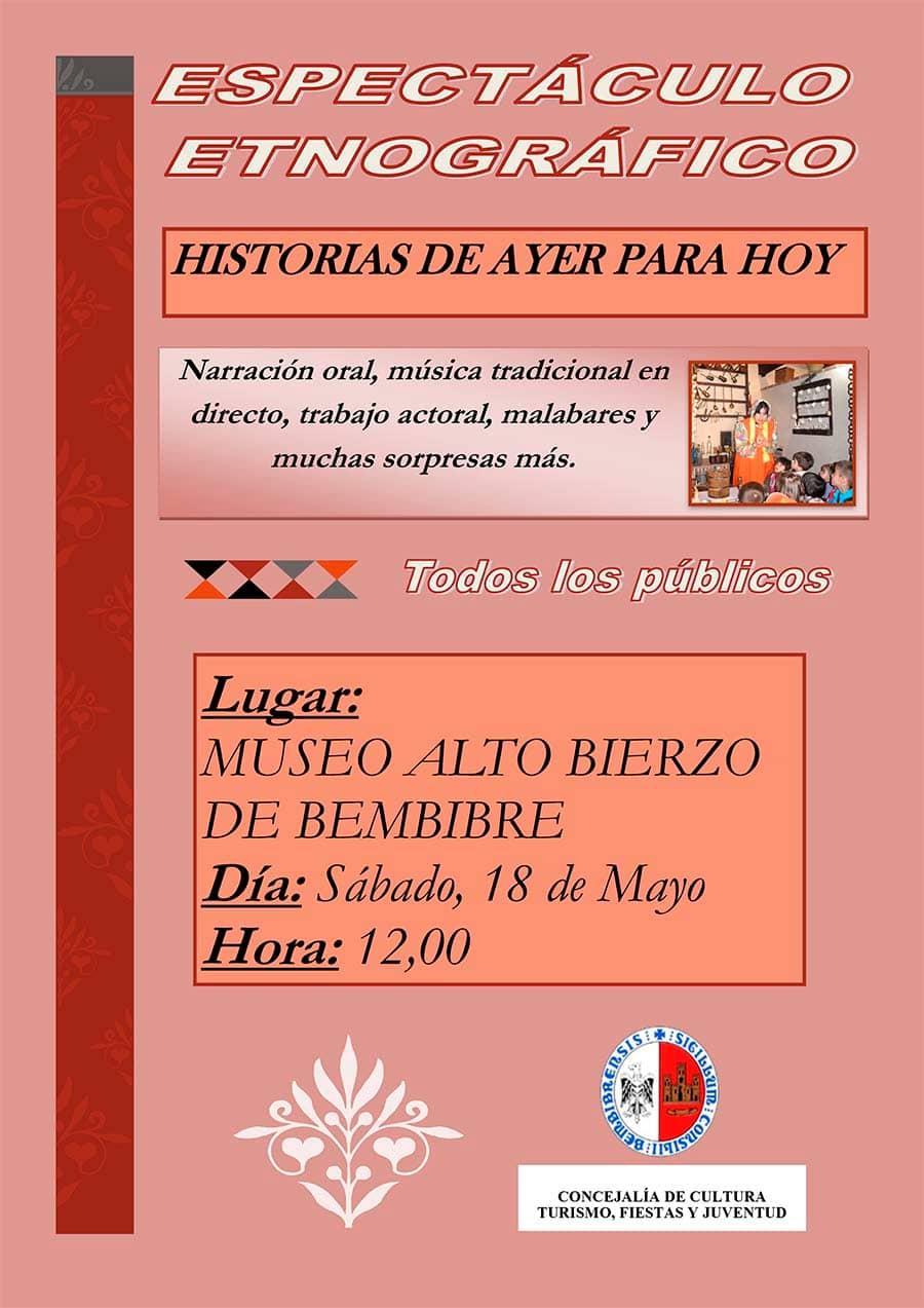 cartel dia internacional museos19 bembibre el bierzo