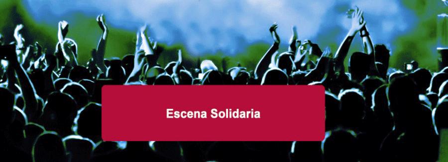 cartel ciclo escena solidaria teatro bergidum ponferrada el bierzo
