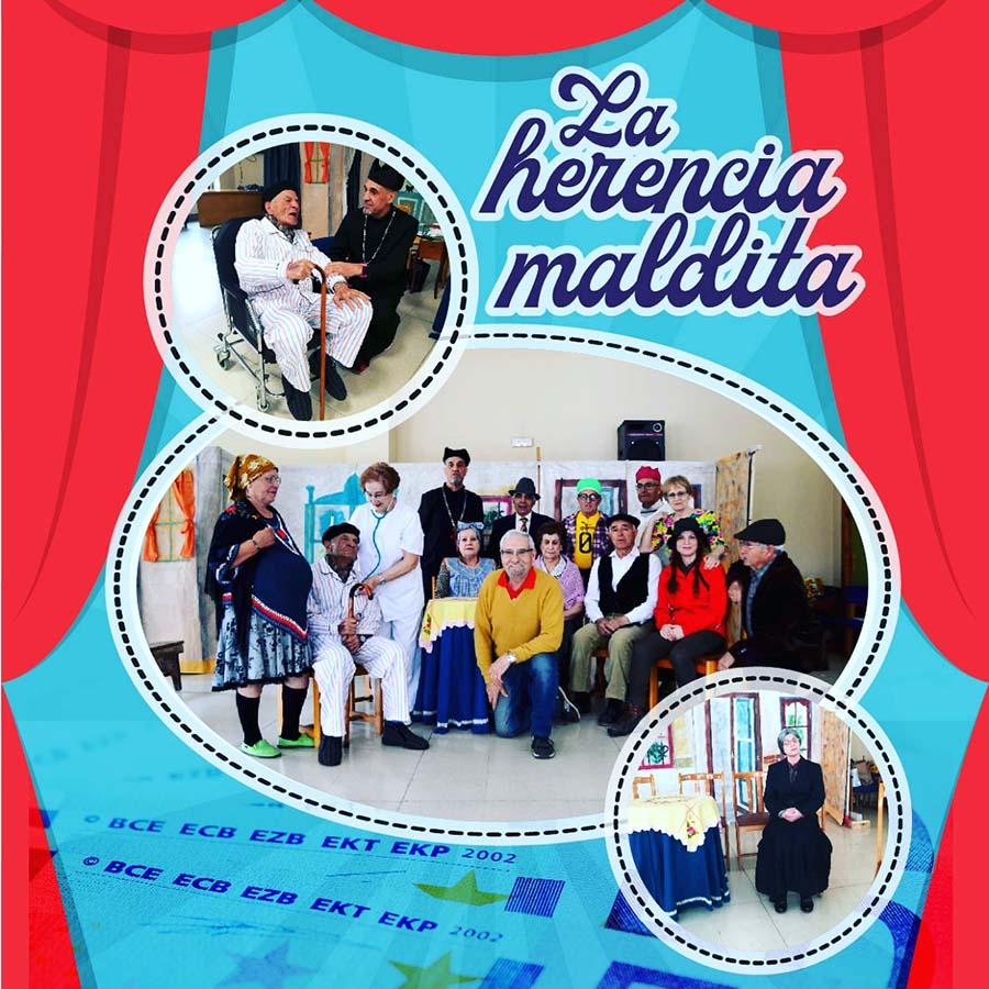 cartel la herencia maldita teatro benevivere bembibre el bierzo