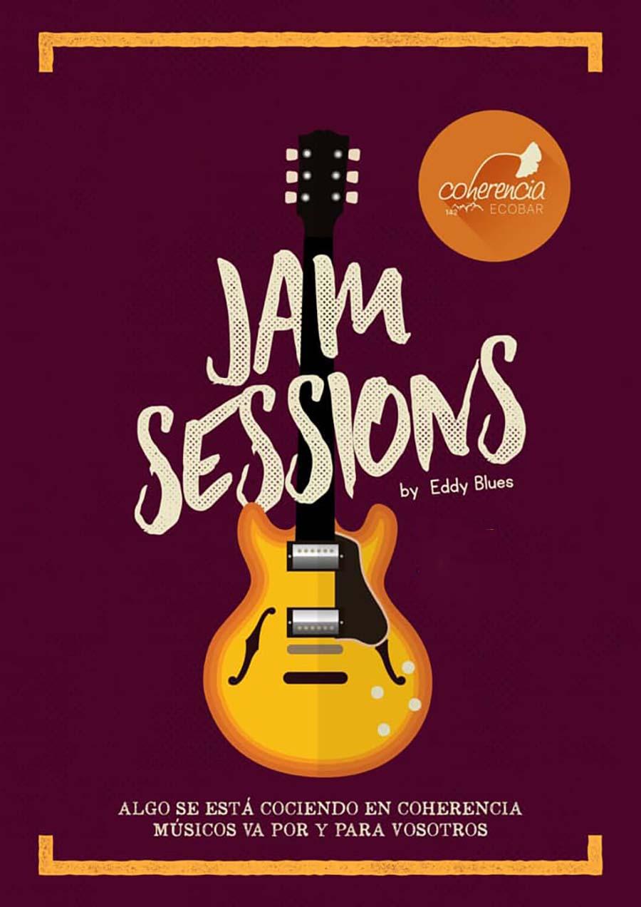 cartel jam session coherencia ponferrada el bierzo