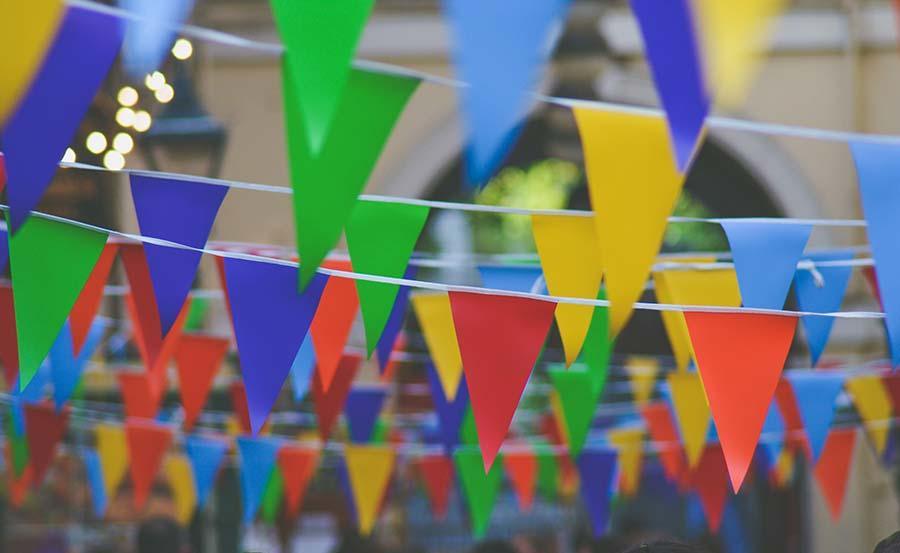 banderines fiestas generica