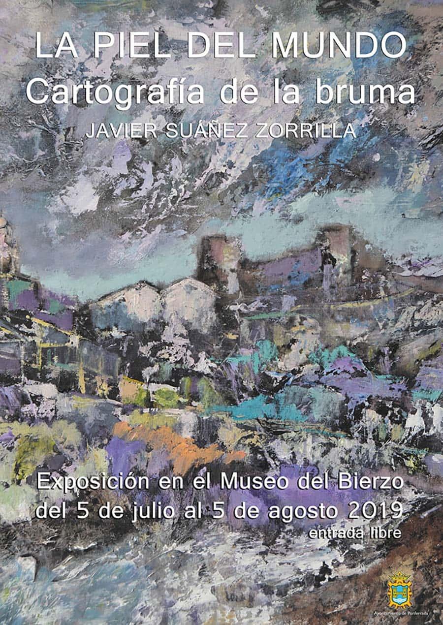 cartel expo piel del mundo museo del bierzo ponferrada