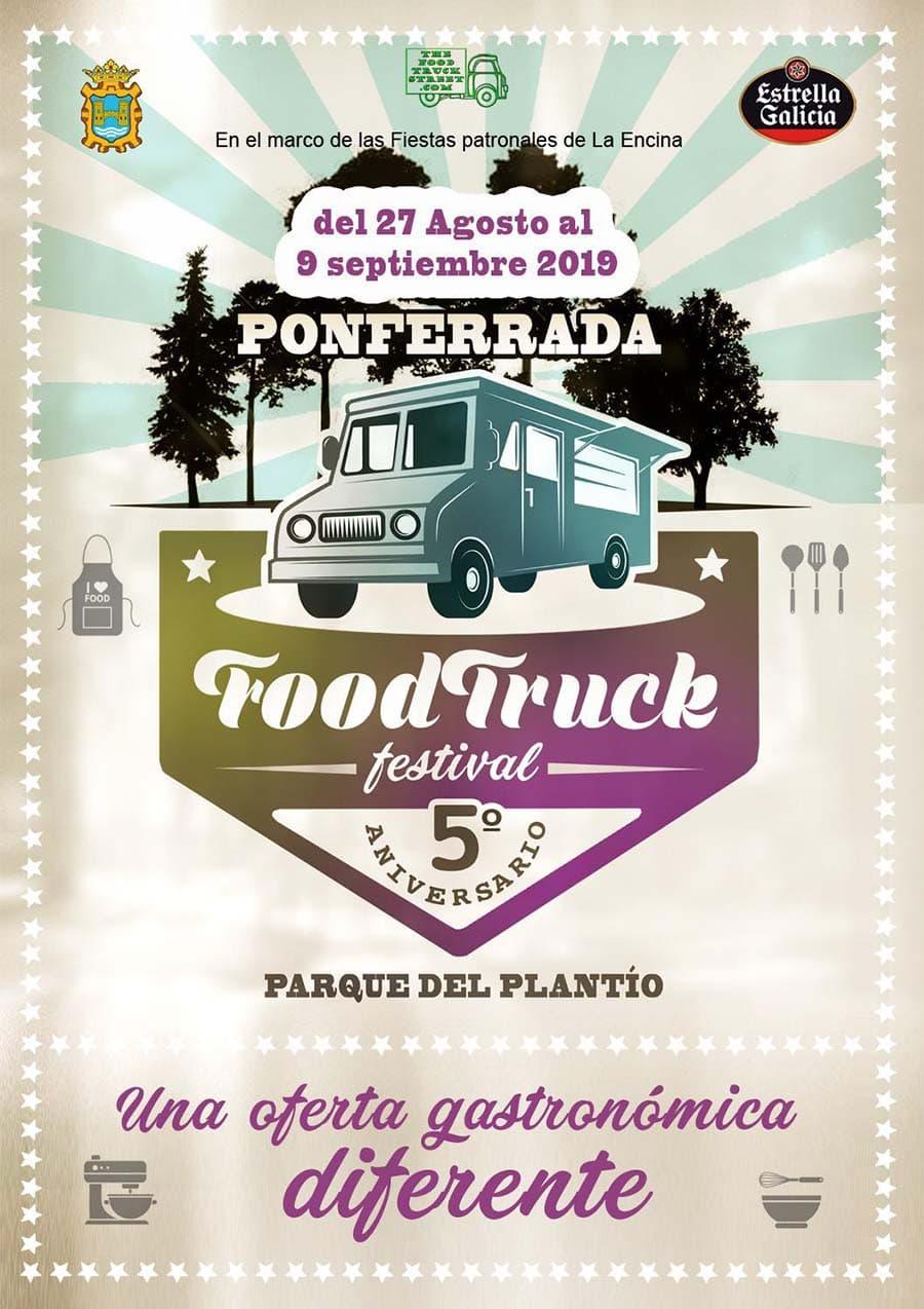 cartel foodtruck festival19 ponferrada el bierzo